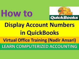 Quickbook Tips And Tricks How To Display Account Numbers In Quickbooks Part 4