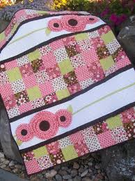 Pocket Full of Posies Girl Baby Quilt Pattern. | Quilts ... & Pocket Full of Posies Girl Baby Quilt Pattern. Adamdwight.com