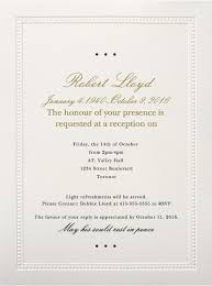 Memorial Service Invitation Wording Beauteous 44 Sample Wedding Invitations Uk Card Billboards