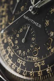 trophy watch a navitimer from congo