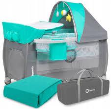 <b>Манеж Lionelo LO</b>-<b>SVEN</b> PLUS Turquoise — купить в интернет ...
