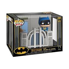 <b>Funko Pop! Town</b>: <b>Batman</b> With Hall Of Justice #09 - Toy Tokyo