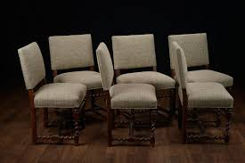 set of 6 vintage french walnut low back dining chairs at 1stdibs uk org fadcfr02112001 low