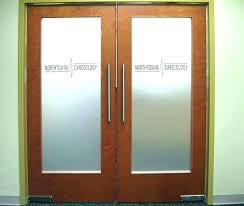 Office Glass Doors Interior Door Design Fancy Ideas