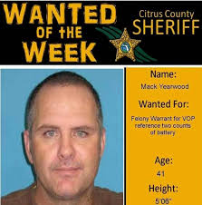 Felon Posts His Own Wanted Poster As A Facebook Profile Photo Gets