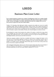 Business Plan Cover Letter Cover Letter Format In Business Plan