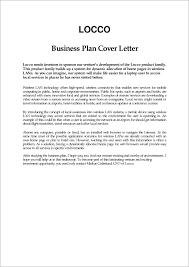 Format Cover Letter For Resume Business Plan Cover Letter Cover Letter Format In Business Plan 13