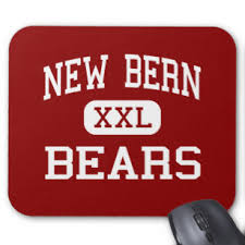 new bern bears high new bern north carolina mouse pad
