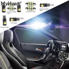 Audi A5 Interior Led Lights Us 16 46 13 Off Car Led Interior Light For Audi A5 S5 Convenience Bulbs C10w Replacement Bulbs Dome Map Lamp Light Bright White 11 Pcs Per Set In