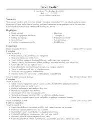 Cleaner Resume Example Trezvost