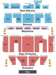 Colonial Theater Seating Chart Prototypic Citi Performing Arts Center Boston Seating Chart