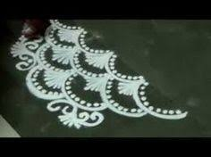 Small Picture how to draw finger easy fancy small rangoli design YouTube