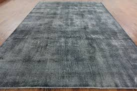 wool hand knotted rug gray silver wash overdyed oriental 9 x12 rug traditional area rugs by manhattan rugs