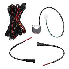 Fog Light Wiring Loom 10a Relsy Switch Fog Light Spot Wiring Loom Harness Kit For Universal Motorcycle Car