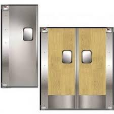 swinging kitchen door. Used Commercial Cafe Doors Swinging Kitchen Door O