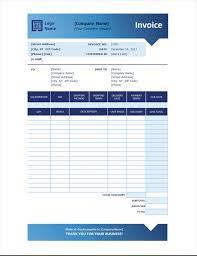 Sales Invoice Sales Invoice Blue Gradient Design