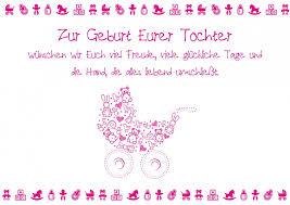 Zur Geburt Eurer Tochter Baby Familienkarten Echte Postkarten