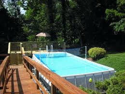 intex above ground pool decks. Perfect Ground Intex Pool Ladders Gorgeous Pools With Decks Also Swimming Volleyball  Net And Deluxe Resin Above Ground Ladder 52 Instructions In S