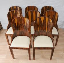 french art deco furniture photo of set art deco dining chairs rosewood furniture 1920s interiors art deco mahogany framed office chair