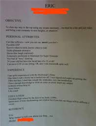 best job resume ever   sample job application with background checkbest job resume ever  most creative resumes weve ever seen financial post chocolate microscope the