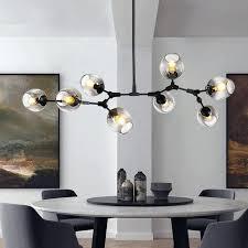 lindsey adelman branching globe branching bubble chandelier modern chandelier light lighting pendent lamp glass ball lindsey