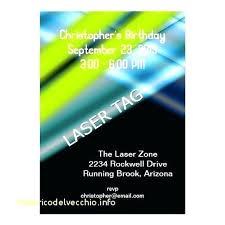 Free Laser Tag Invitation Template Laser Tag Invitations Free Printable Invitation Template Fresh