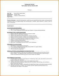 Resumes Teacher Aide Resume Objective Examples Sample Example