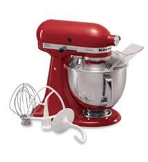 Designer Kitchen Aid Mixers Artisanar Series 5 Qt 48 L Tilt Head Stand Mixer Empire Red