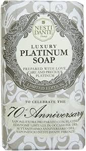 <b>NESTI DANTE</b> Platinum <b>Anniversary</b> Soap 250 g: Amazon.co.uk ...