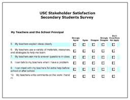 Sample Surveys Questionnaires Stakeholder Satisfaction Surveys Center On Educational Governance