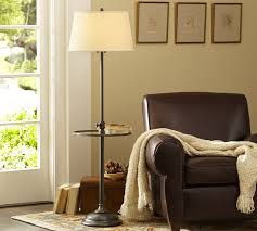brilliant chelsea floor lamp base with tray pottery barn in floor lamps with tables
