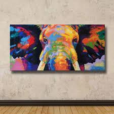 drawn elephant painted elephant 8