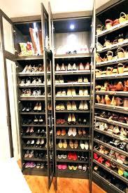 built in shoe closet built in shoe rack build custom closet inside door built in shoe