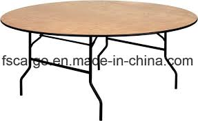 china 72 round wood folding banquet table w clear coated finished top cgt1612 china folding table round table