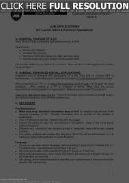 Interests Resume Examples Resume Template