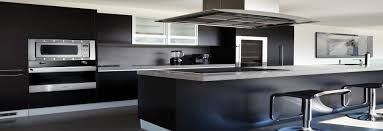 Black N White Kitchens Monarch Countertops Cabinets Ltd