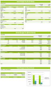 Event Budget Sample Event Budget Template Spreadsheet Budget Templates
