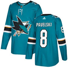 Authentic Jerseys Fanatics Jersey Premier From Pavelski Joe Shop Adidas Sharks - Branded