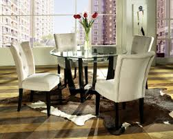 Round Glass Dining Room Tables Asian Compact Phenomenal Glass