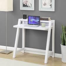 Zipcode Design Writing Desk Zipcode Design Chelsey Writing Desk White Wood Desk