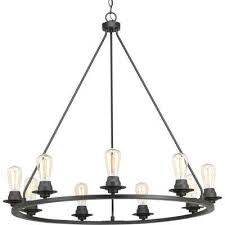 debut collection 9 light graphite chandelier