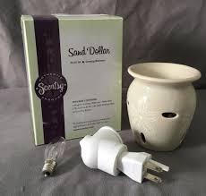 Night Light Wax Warmer Bulbs Details About New Scentsy Sand Dollar Wall Plug In Wax