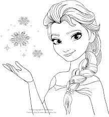 Disegni Di Frozen Da Colorare