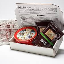 deluxe fruitcake gift set
