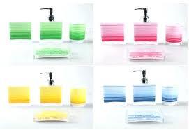 blue bathroom sets bathroom set green red yellow blue bath sanitary accessories super design ideas sets
