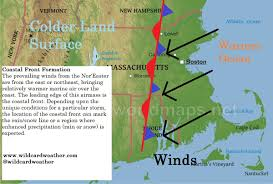 how does a nor easter form finding the jackpot region coastal fronts in noreasters wildcard