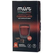 Характеристики модели Какао в капсулах <b>MUST Cioccolato</b> (10 ...