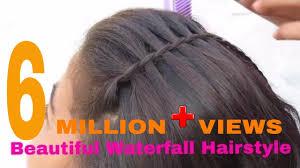 Hairstyle Waterfall beautiful waterfall hairstyle simple hairstyle youtube 7904 by stevesalt.us