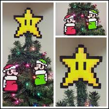 Super Mario Christmas Tree Baubles  Super Mario  TShirt  TeePublicSuper Mario Christmas Tree