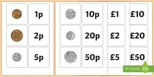 Money Coins Ks1 Currency Activities Resources